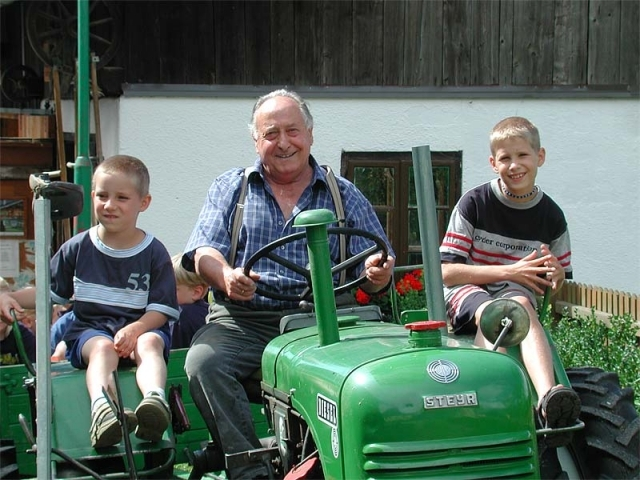 Familienferien auf dem Bauernhof