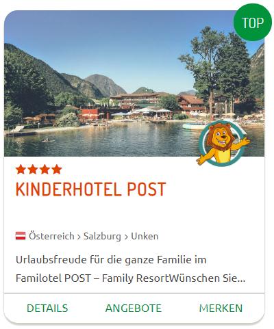 Familienurlaub im Kinderhotel POST